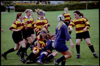 [Rugby match. Windsor Park, Victoria, BC. April 2000.]